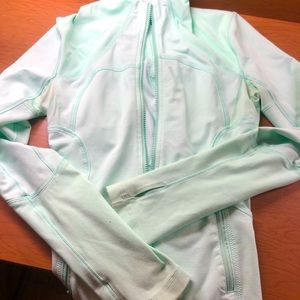 Teal Lululemon jacket